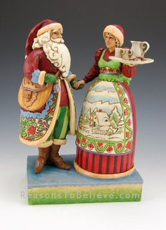 Mr and Mrs Claus / Jim Shore