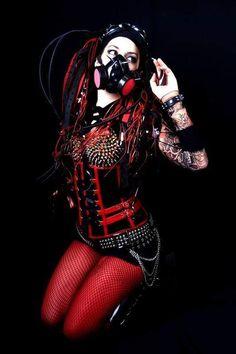 Tokyo Under World Cybergoth, Gothic Girls, Gothic Beauty, Gothic Fashion, Cyberpunk, Tokyo, Beautiful Women, Female, Lady