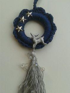 Crochet Around Curtain Ring