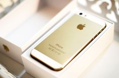 iPhone 5 S Gold ❤️