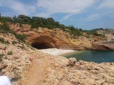 Cave in Limenaria, Thassos
