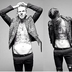 He's got a hot bod. | Community Post: Why Jesse Rutherford Should Be Your Newest Crush