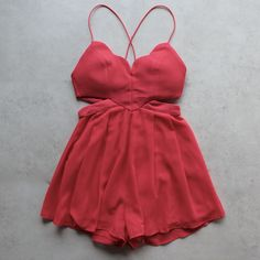 rhythm of the night romper - red - shophearts - 1