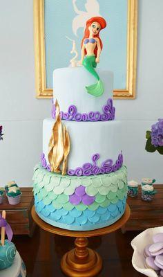Festa de aniversário Tema: A Pequena Sereia
