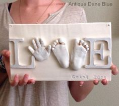 Not new born photography but very cute idea after the baby is born TheBabyHandprintCompany: Sibling Keepsake Clay Ceramic Art, Ceramic Hand Pr. I would love to have this made for my own child from TheBabyHandprintCompany: Sibling Keepsake Clay Ceramic Art Baby Nursery Art, Newborn Nursery, Nursery Room, Nursery Ideas, Baby Bedroom, Room Ideas, Baby Boy Nurseries, Disney Baby Nurseries, Elephant Nursery Art
