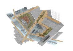 An artifical valley: #Marseille #Urban Design #Architecture