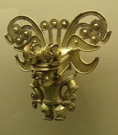 Tayrona pre-columbian gold Colombian Gold, Costa Rica Art, Inca Art, Royal Diamond, Mesoamerican, Masks Art, Dark Ages, Ancient Artifacts, Art Object