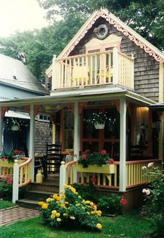 Martha's Vineyard. Absolutely darling!  Shelby wanted to stay in one of these little houses!