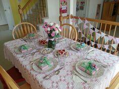 Purim lunch by Tiffany