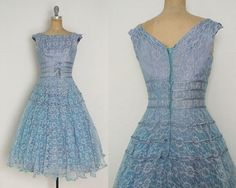 vintage-1950s-1960s-blue-lace-dress-blue:
