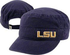 LSU Tigers Women's New Era Military Adjustable Strapback Hat