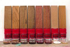 イギリス生まれの木材専用塗料「ワトコオイル」全8色の色見本を作ってみました。塗装する木材は高級家具にも使用されるホワイトオークを使って、塗装の手順はワトコ推奨の方法で行いました。木の温もりと味わいを出すワトコオイルの色味の違いを参考にしてみてください。塗装手順も分かりやすく説明しています!