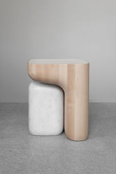 Isamu Noguchi, Hanna Eshel, Barbara Hepworth — some of our favorite Modernist sculptors came to mind when we first saw Guillaume Delvigne's new stools. New Furniture, Furniture Design, Antique Furniture, Furniture Ideas, Unusual Furniture, Furniture Cleaning, Classic Furniture, Plywood Furniture, Rustic Furniture