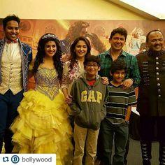 @BOLLYWOOD   Madhuri Dixit with hubby Dr. Nene and their two sons watched Disney's play Beauty and The Beast @Bollywood  . #madhuridixit #karishmakapoor #sridevi #juhichawla #shilpashetty #shahrukhkhan #kajol #salmankhan #sanjaydutt #rekha #india #indian #desi #mumbai #delhi #noida #gurgaon #chandigarh #hyderabad #surat #pune #beautyandthebeas @BOLLYWOODREPORT !! . For more follow #BollywoodScope and visit http://bit.ly/1pb34Kz
