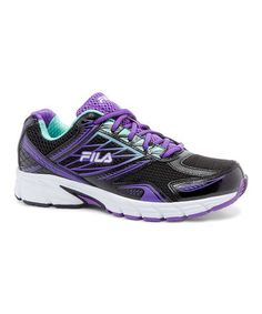 SAVE 60% or MORE ~ Black & Electric Purple Royalty 2 Running Shoe #zulily #zulilyfinds