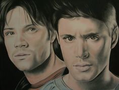 Sam and Dean - Supernatural by LianneC.deviantart.com on @deviantART