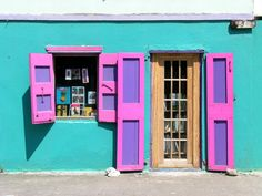 Colorful bookseller, Roadtown,Tortola, BVI- Photo: Shawnie Kelley