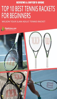 Best Tennis Rackets for Beginners Ultimate List (March) Best Tennis Rackets, Head Tennis, How To Play Tennis, Muscle Power, Buyers Guide, Female