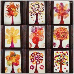 Φθινόπωρο - Fall Crafts For Toddlers Fall Crafts For Toddlers, Halloween Crafts For Kids, Toddler Crafts, Diy Crafts For Kids, Art For Kids, Autumn Art Ideas For Kids, Fall Arts And Crafts, Autumn Crafts, Fall Preschool