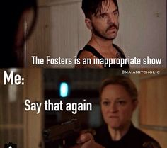 hahahaha :P :P lol Faith that reminds me of u and me  The fosters <3
