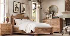 My Dream Bedroom I Adore Restoration Hardware.
