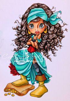 Crafty Meerkat ~ SC Tammi Buccaneer ~ Copics: Skin - E00, 11, 13,15, 17 Hair: E71, 77, 79, 49 Dress: BG32, 34, 45, 49, 75, 78 Corset/ruffles: R35, 37, 39, 89 Stockings: 110, C09, 07, 05.