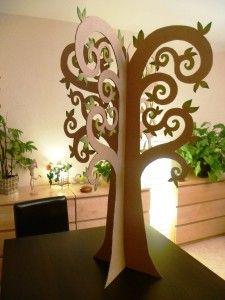 Je viens de finir un truc qui m'a bien amusée, il s'agit d'un arbre en 3D que j'ai réalisé avec du carton. Une fois fini je me suis dit que ça pourrait faire sympa en déco dans une chambre d'enfant ... ou pas ! Ce projet est né d'une demande de deux de...