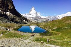 Today at Riffelsee. #Zermatt #Matterhorn