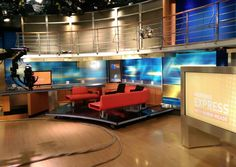 Go behind the scenes of HLN's Morning Express with Robin Meade on the Inside CNN Center and Tour.