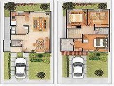 planos arquitectonicos de casas pequenas - Buscar con Google