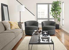Otis Swivel Chair - - Modern Living Room Furniture - Room & Board Cheap Living Room Rugs, Cheap Room Decor, Modern Chairs, Minimalist Living Room, Modern Lounge Chairs, Swivel Chair, Room Decor Bedroom, Modern Furniture Living Room, Living Room Decor Modern