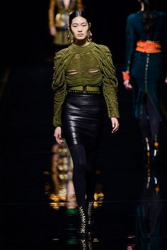 Balmain by Olivier Rousteing RF14 París PFW 2014