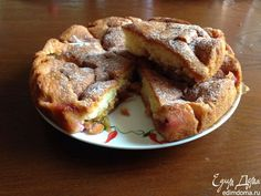 """Сливовый пирог по рецепту из газеты """"The New York Times""""   Кулинарные рецепты от «Едим дома!»"""