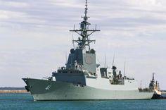 Australia's second air warfare destroyer 'Brisbane' starts sea trials