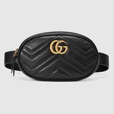 244a670447e Shop the GG Marmont matelassé leather belt bag by Gucci. Part of the GG  Marmont
