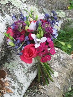 Bridesmaid's bouquet, Vermont Wedding At Grand Isle Lake House floralartvt.com