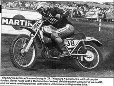 1973- Brad Lackey on a CZ
