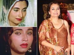 30 'Yesteryear' #Bollywood Queens Then And Now - Noted for her performance in the 1982 hit, 'Nikaah', Pakistani actress and singer, Salma Agha, can now be spotted at events after a very lon...