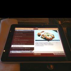 Temazcal in Boston, MA - iPad menus!