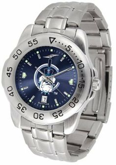 Citadel Bulldogs Sport Steel Band Ano-Chrome Men's Watch by SunTime. $63.64. This handsome, eye-catching watch comes with a stainless steel link bracelet. A date calendar function plus a rotating bezel/timer circles the scratch resistant crystal. Sport the bold, colorful, high quality NCAA Citadel Bulldogs logo with pride.The AnoChrome dial option increases the visual impact of any watch with a stunning radial reflection similar to that of the underside of a CD...