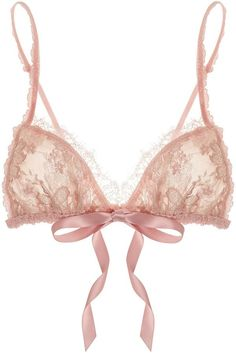 Pin for Later: Last-Minute Valentine's Day Gifts to Please Your Picky Girlfriend Hanky Panky Triangle Bra Hanky Panky Gilded floral-lace soft-cup triangle bra (£50)