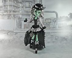 Monster High Clothes Outfit Pirate Steampunk Set in Black and White | eBay