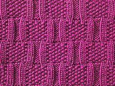 Knitulator sucht #Strickmuster: #Korbmaschen #Korbmusterstricken #stricken #Strickapp #BracketStitch #Knittingapp #knittingappKnitulator www.knitulator.com