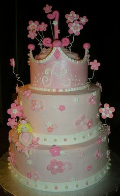 Tiered Princess Cake | Flickr - Photo Sharing!