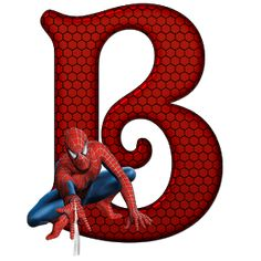 Whisper of Love: Alphabet Spiderman PNG Spiderman Birthday Invitations, Birthday Letters, Superhero Birthday Party, Birthday Numbers, 3rd Birthday, Spiderman Images, Minnie Png, Autism Activities, Paw Patrol Party