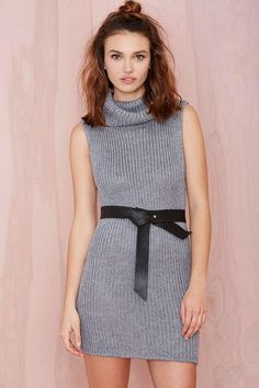 B-Low The Belt Ribbon Leather Belt at Nasty Gal