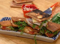 Sunny Anderson's Mini Pizza Heroes - These sammies can be made using leftover pizza!