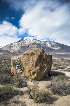 Buttermilk Country (AKA the Buttermilks) is a bouldering destination near Bishop, CA in the Owens Valley just east of the Sierra Nevadas. Earlier this spring, the talented photographer Jeremiah Watt and climbers Ronnie Jenkins and Matt Gavin joined forces to climb some premier routes and take in the stunning views. Here are 12 of our favorite photos.