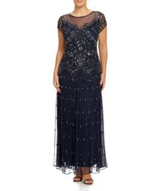 Shop for Pisarro Nights Plus Beaded Illusion Gown at Dillards.com. Visit Dillards.com to find clothing, accessories, shoes, cosmetics & more. The Style of Your Life.