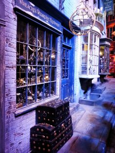 Diagon Alley - Harry Potter Studio Tour, London